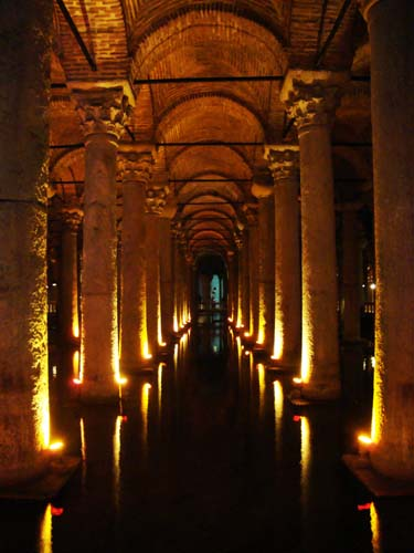 Montage Monday: Istanbul's Basilica Cistern  A Wandering Sole